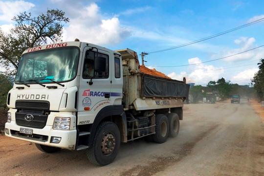 Thi công Quốc lộ gây ô nhiễm môi trường, ảnh hưởng đến người dân