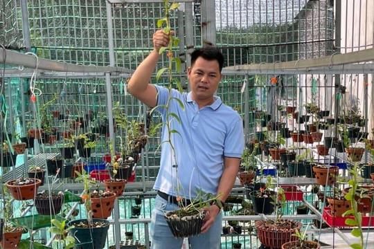 Hành trình thực hiện ước mơ của ông chủ vườn lan Lê Ngọc Hùng