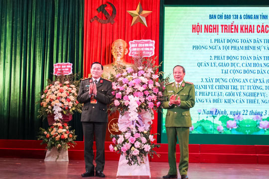 Nam Định: Phát huy vai trò của Công an xã, giữ vững an ninh trật tự ngay từ cơ sở
