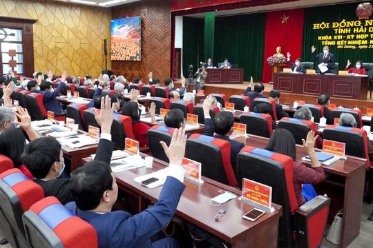 Bí thư Hải Dương trúng cử Chủ tịch HĐND tỉnh với số phiếu tuyệt đối