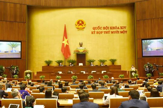 Chính thức khai mạc Kỳ họp thứ 11, Quốc hội Khóa XIV