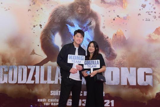 Dàn sao Việt tưng bừng 'đổ bộ' buổi công chiếu 'siêu bom tấn' Godzilla Đại Chiến Kong