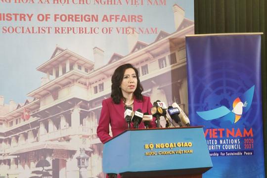 Tàu Trung Quốc hoạt động ở đá Ba Đầu đã xâm phạm chủ quyền của Việt Nam