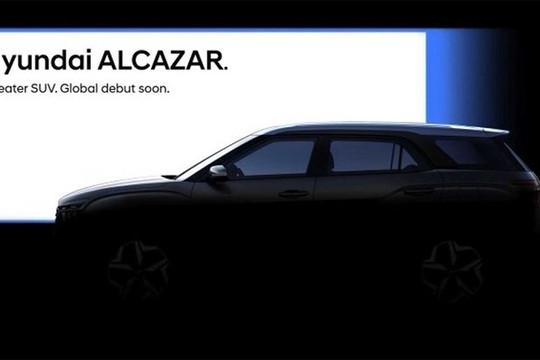 Lộ diện SUV 7 chỗ mới Hyundai Alcazar