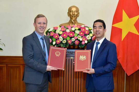 Việt Nam – Anh trao đổi Công hàm Hiệp định thương mại tự do