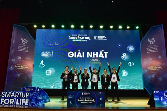Giải nhất cuộc thi Sáng tạo trẻ Bách khoa thuộc về đề tài lĩnh vực y tế