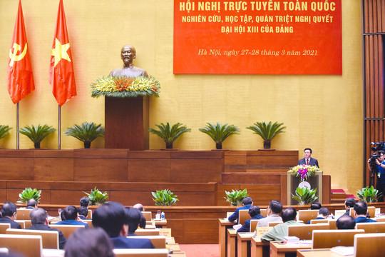 Báo cáo chính trị: Sự lãnh đạo của Đảng quyết định thắng lợi; nhân dân là chủ thể, cội nguồn sức mạnh