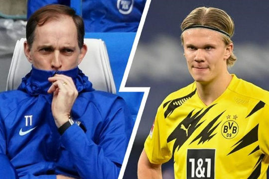 Haaland sẽ không thể đến Chelsea vì Thomas Tuchel?