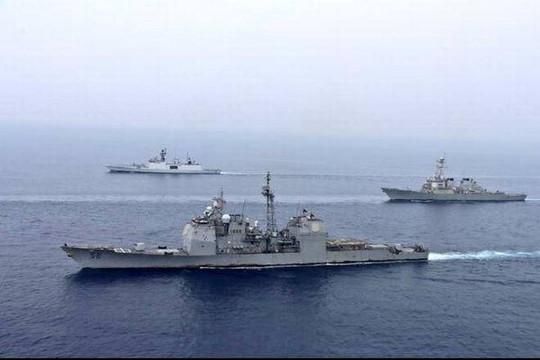 Ấn Độ, Mỹ tập trận chung ở Đông Ấn Độ Dương