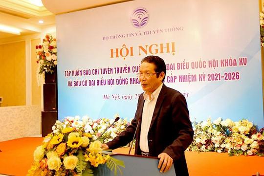 Thứ trưởng Hoàng Vĩnh Bảo: Báo chí cần phản bác quan điểm sai tráiphá hoại bầu cử