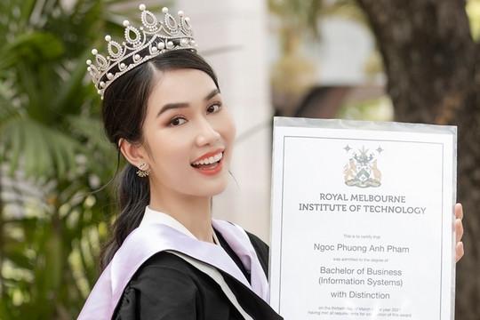 Á hậu Phương Anh tốt nghiệp thủ khoa