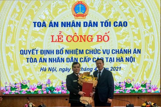 Trao Quyết định bổ nhiệm Chánh án TAND cấp cao tại Hà Nội