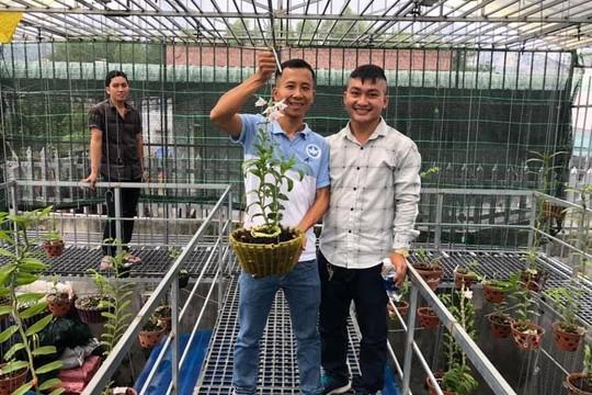 Anh Trần Quang Duy – ông chủvườn lan ấn tượng tại Bình Dương