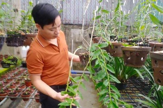 Gặp ông chủ vườn lan Mạnh Hùng tìm hiểu bí quyết thành công khi trồng lan