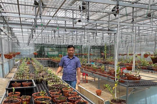 Ông chủ Đô Ban Mê và khu vườn lan giá trị ở Buôn Ma Thuột