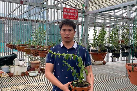 Nghệ nhân Bùi Văn Dũng, ông chủ 8x sở hữu vườn lan đột biến lớn nhất nhì đất Hòa Bình