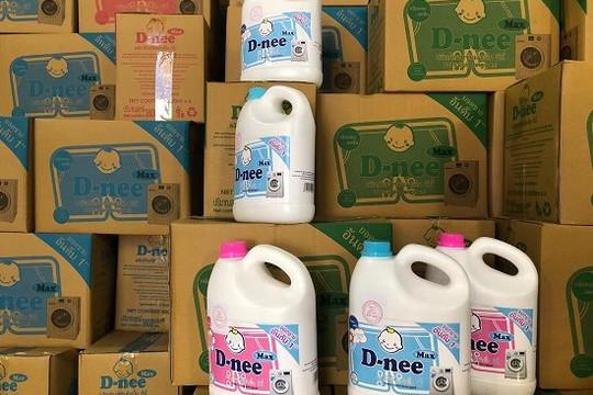 Bắt quả tang cơ sở sản xuất nước giặt giả mạo nhãn hiệu