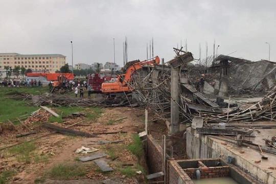 Bắc Ninh: Sập giàn giáo công trình, 2 công nhân thiệt mạng