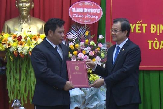 Trao Quyết định bổ nhiệm Phó Chánh án TAND tỉnh Đắk Nông
