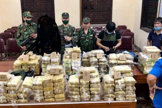 Nghệ An: Phá chuyên án, bắt giữ hơn 2 tạ ma túy