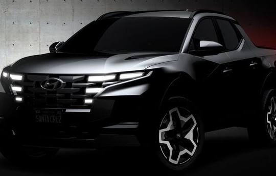 Lộ ảnh Hyundai Santa Cruz trước ngày ra mắt