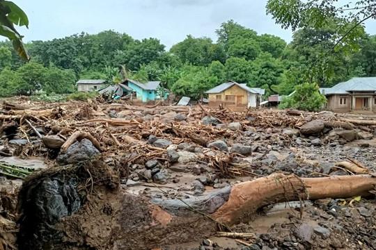 Lũ quét ở Indonesia, ít nhất 80 người thiệt mạng