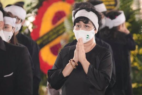 NSND Minh Hằng tiếp tục chịu nỗi đau mất bố khi chồng vừa qua đời chưa được 49 ngày