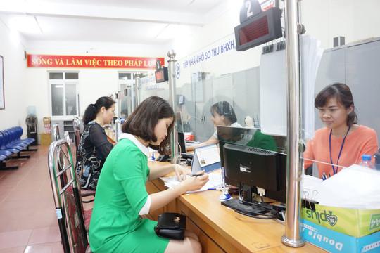 BHXH Việt Nam tiếp tục cắt giảm xuống còn 25 thủ tục hành chính,  nâng cao hiệu quả phục vụ người dân và doanh nghiệp