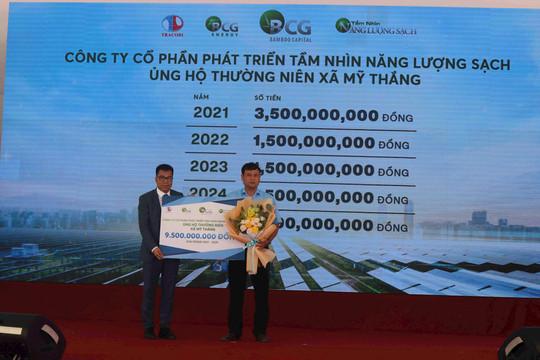 Khánh thành nhà máy năng lượng mặt trời lớn nhất tỉnh Bình Định