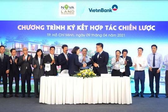 VietinBank tài trợ tín dụng ưu việt cho khách hàng Novaland