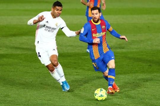 Trận cầu siêu kinh điển đã giúp Real hạ Barca để lên đầu bảng