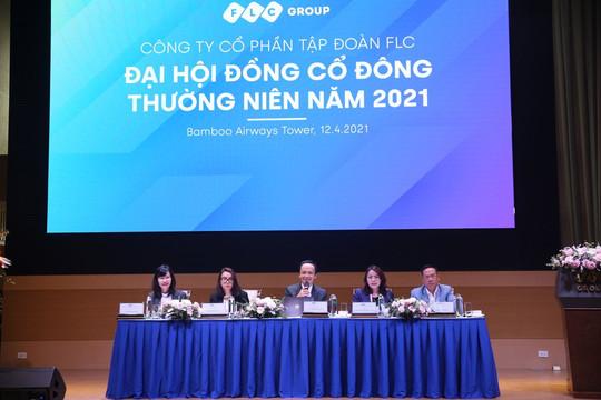 ĐHCĐ FLC 2021: FLC tri ân lớn cho cổ đông, đặt mục tiêu lãi gấp 3 lần 2020, cổ tức 10%