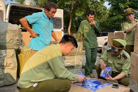 Lạng Sơn: Hơn 10.000 đơn vị sản phẩm hàng hóa bị tạm giữ