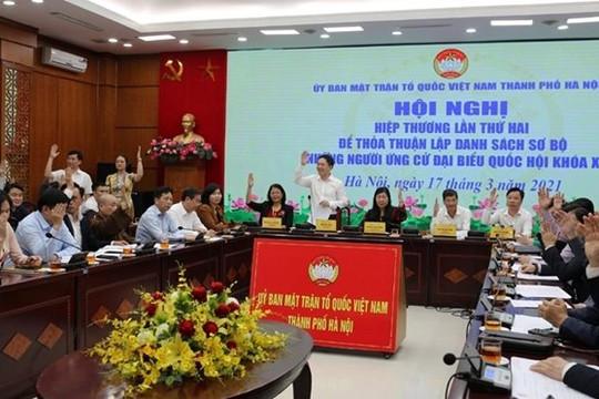 Hà Nội: 6 người rút hồ sơ ứng cử ĐBQH, 11 người rút ứng cử đại biểu HĐND