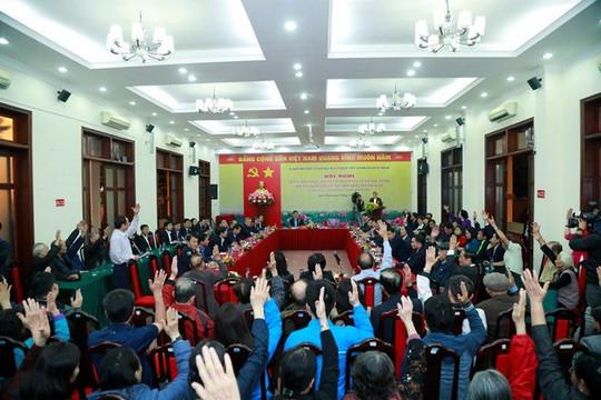 Hà Nội hoàn thành lấy ý kiến cử tri nơi cư trú với người ứng cử đại biểu Quốc hội, HĐND thành phố