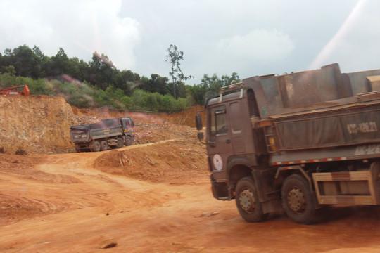 Bình Định: Đình chỉ mỏ khoáng sản bán đất sai phép