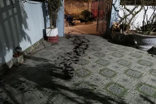 """Nhà riêng của một phóng viên bị """"khủng bố"""" bằng chất bẩn"""