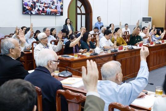 Hiệp thương lần thứ ba: Thông qua 205 người ứng cử ĐBQH tại các cơ quan Trung ương