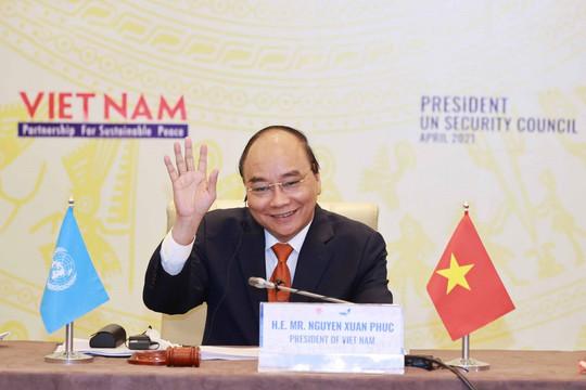 Chủ tịch nước Nguyễn Xuân Phúc và 3 đề xuất tại phiên thảo luận mở HĐBA Liên hợp quốc