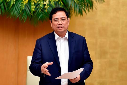 Thủ tướng Phạm Minh Chính: Nghiêm cấm trục lợi, nâng giá vật liệu xây dựng cao tốc Bắc-Nam