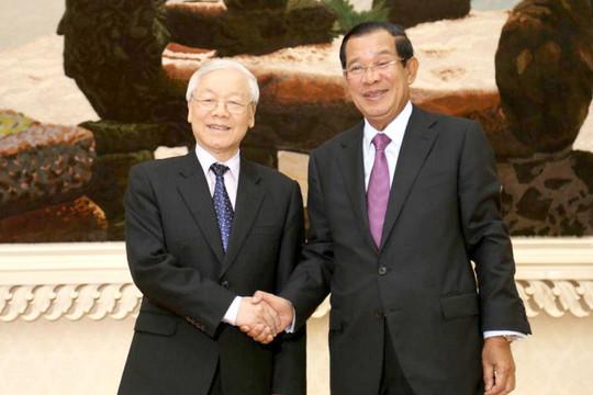 Thủ tướng Hun Sen: Việt Nam đã luôn đoàn kết và chia sẻ với Campuchia trong mọi hoàn cảnh