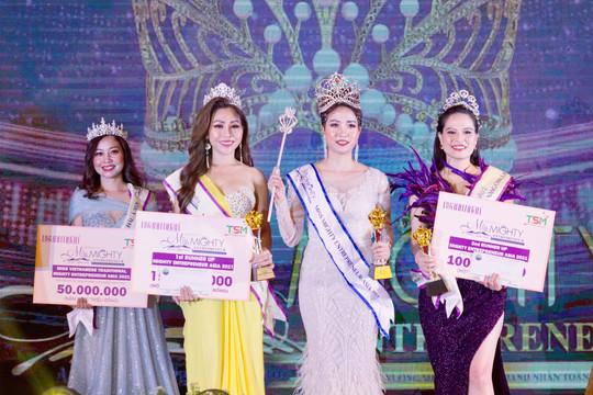 Á hậu Mai Phượng: Hành trình đến chiếc vương miện Hoa hậu doanh nhân toàn năng Châu Á 2021