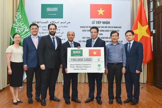 Trung tâm Cứu trợ và Nhân đạo Quốc vương Salman hỗ trợ Việt Nam 150.000 USD