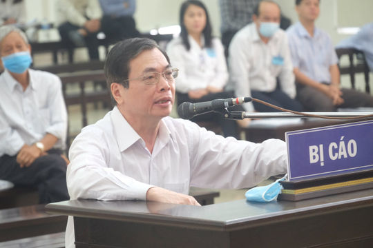 Ông Vũ Huy Hoàng không đồng tình với bản luận tội của VKS