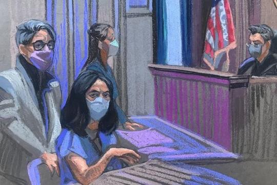 """""""Tú bà"""" Ghislaine Maxwell kháng cáo trong phiên tòa đầu tiên"""
