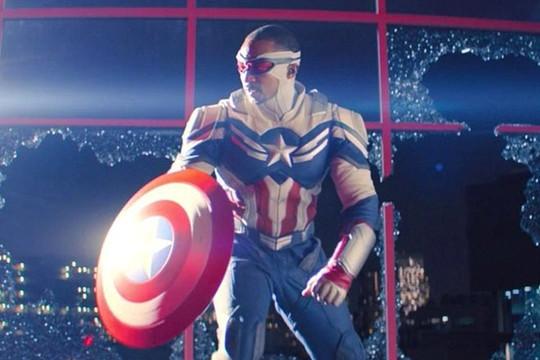 Sam Wilson chính thức trở thành Captain America mới của Vũ trụ Điện ảnh Marvel