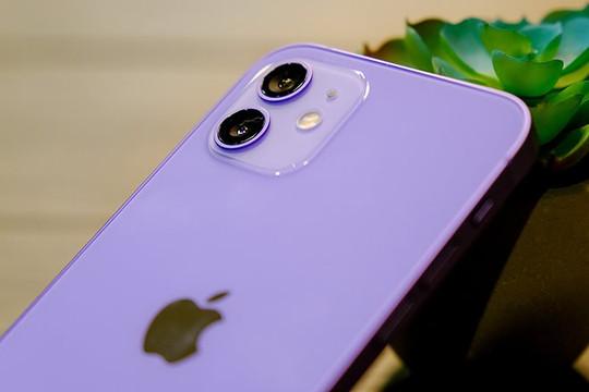 iPhone 12 và 12 mini màu Tím về Việt Nam đầu tháng 5