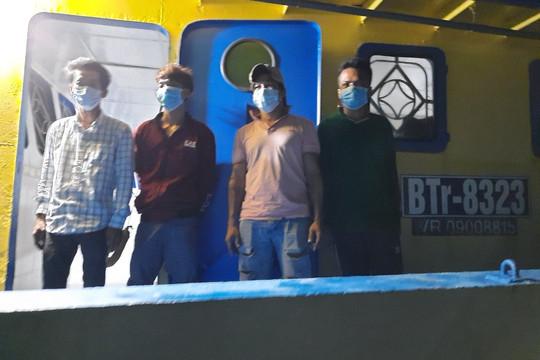 Kiên Giang, phát hiện bắt giữ 7 người vi phạm xuất nhập cảnh trên biển