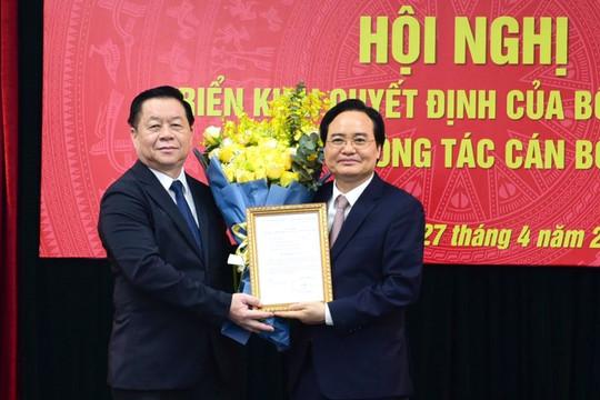 Ông Phùng Xuân Nhạ được bổ nhiệm làm Phó Trưởng Ban Tuyên giáo Trung ương