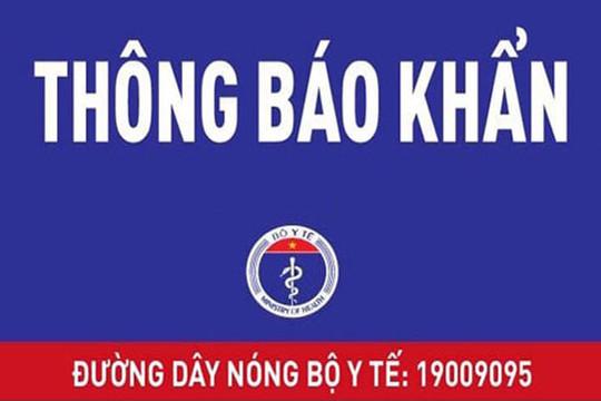 Bộ Y tế tìm người đi xe khách Đà Nẵng - Hà Nội